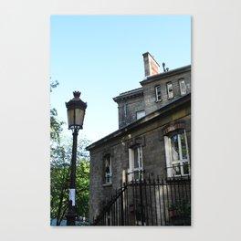 The apartments of Montmartre  version 2 Canvas Print