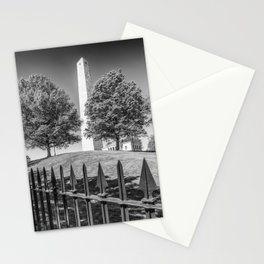 BOSTON Bunker Hill Monument | Monochrome Stationery Cards