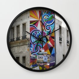 Something about the color Wall Clock