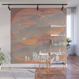 Life Under Drones Wall Mural