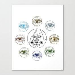 It's in the Way we See Us - Multicolour Canvas Print
