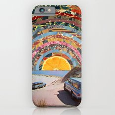 Orange sunset iPhone 6s Slim Case