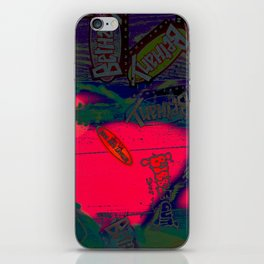 With All my Heart Remix iPhone Skin