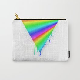 Dripping Rainbow Carry-All Pouch