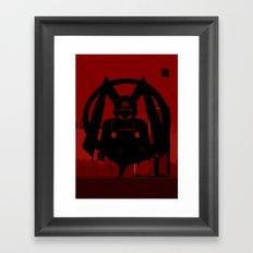 M For Mario Framed Art Print