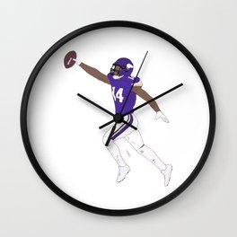 Stefon Diggs Catch American Football NFL Wall Clock