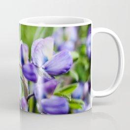 Purple Lupine Photography Print Coffee Mug