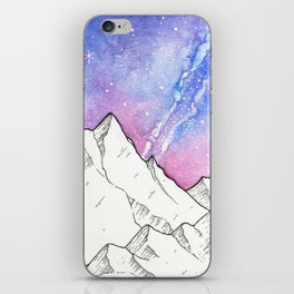 Mountains in the Evening iPhone Skin