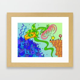 #94: Bob Gets a Lift  Framed Art Print