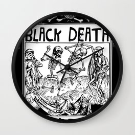 Black Death Crew Wall Clock