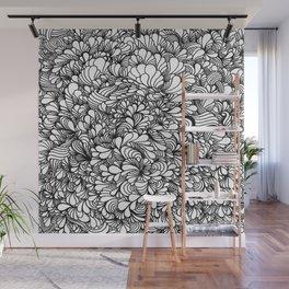 Zenflo White Wall Mural