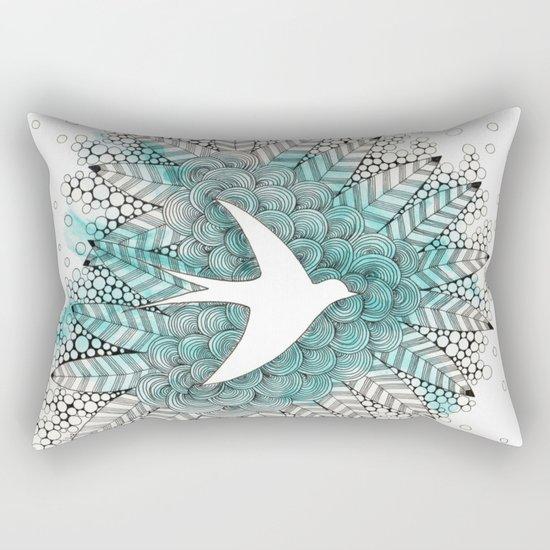 Piou. Rectangular Pillow