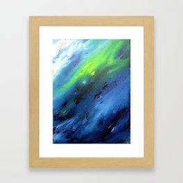 Im Fluss Framed Art Print