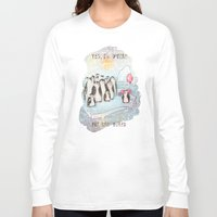 weird Long Sleeve T-shirts featuring Weird by Tatiana Ivchenkova
