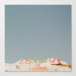 Universal Love Canvas Print