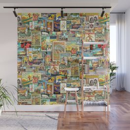 Vintage Hawaii Wall Mural