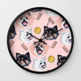 Pom Party Wall Clock