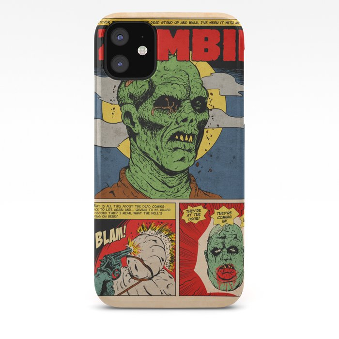 Zombie Time iphone case