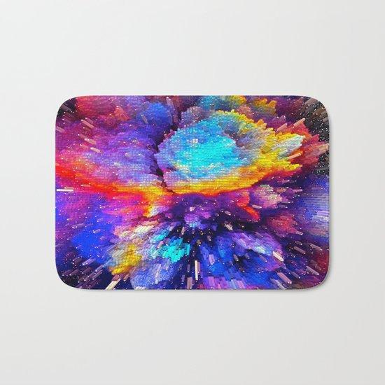Rainbow Explosion Bath Mat