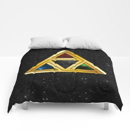 The Tri[llusion] Force Comforters