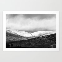 scotland Art Prints featuring Scotland by RAWaterman
