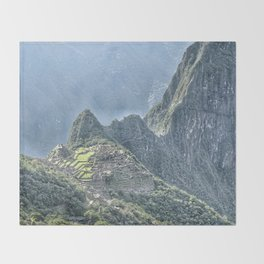 The Lost City of The Incas Throw Blanket