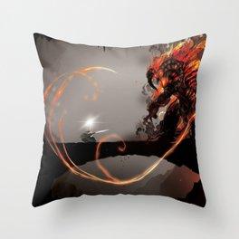 Shall not Throw Pillow