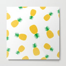 Pineapple pattern 3  Metal Print