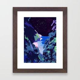 We watch Framed Art Print