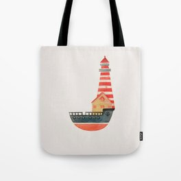 To The Land of Imagination Tote Bag