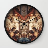 roman Wall Clocks featuring ROMAN by Mark Robinson