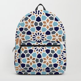 Persian Mosaic – Blue & Gold Palette Backpack