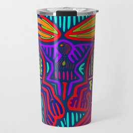 San Blas Twin Parrots Travel Mug