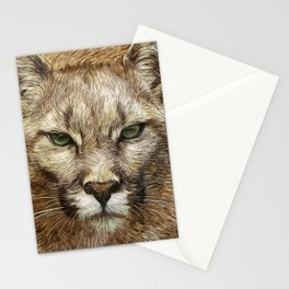 Animaline - Cougar Stationery Cards