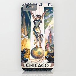 Vintage World's Fair Chicago 1933 iPhone Case