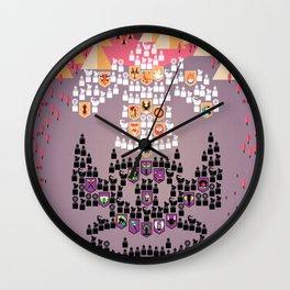 Mahabharata War - 10th Day Wall Clock