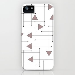 Lines & Arrows iPhone Case
