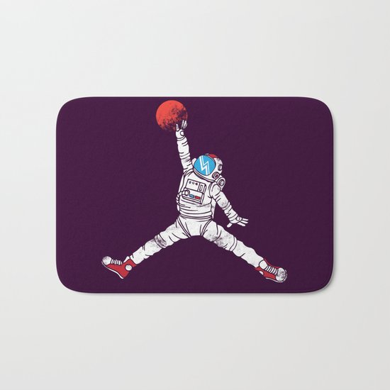 space dunk (purple ver.) Bath Mat