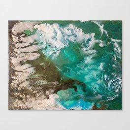 Swash Zone Canvas Print