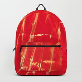Red shiny dragonglass Backpack