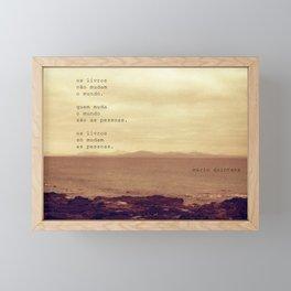 Os Livros Framed Mini Art Print