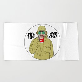 Mac Miller R.I.P 1992 - 2018 Beach Towel