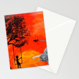 Little boy of Japan Stationery Cards