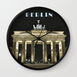 Brandenburger Tor - BERLIN Wall Clock