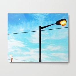 Day Lights Metal Print