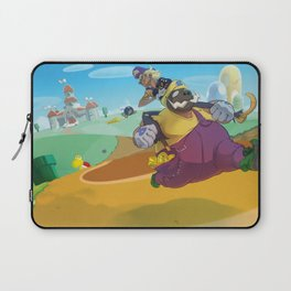 The Junkboys Take the Mushroom Kingdom Laptop Sleeve