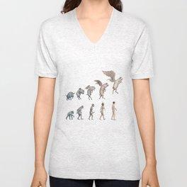 Darwin's Inspiration Mug Unisex V-Neck