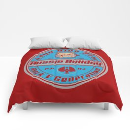 Aussie Bulldog beer Comforters
