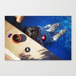 Pool. Alethriko. Canvas Print