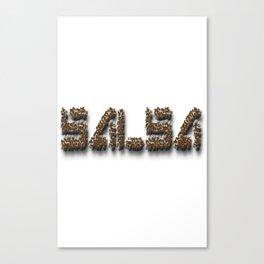 Salsa Dance IV Dance Canvas Print